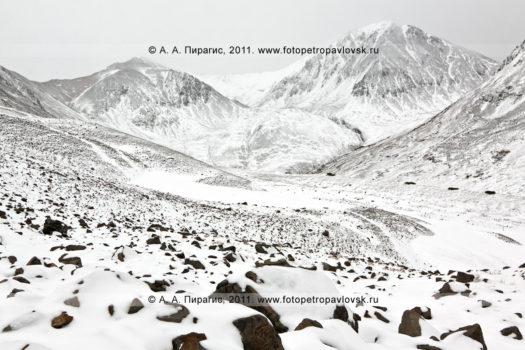 Фотографии горного массива Вачкажец в Камчатском крае