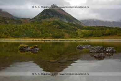 Фотографии горного массива Вачкажец на полуострове Камчатка