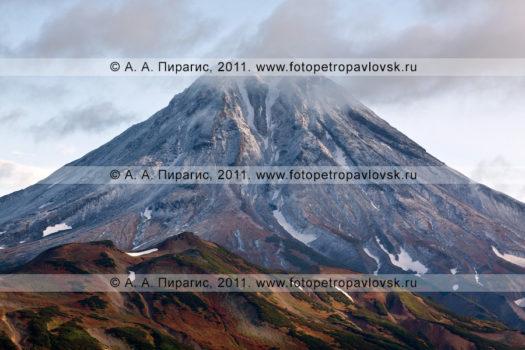 Фотография: виды Камчатки — Вилючинский вулкан, или Вилючинская сопка. Полуостров Камчатка