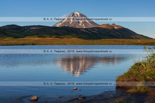 Фотографии осеннего горного пейзажа полуострова Камчатка