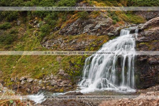 Фотографии водопадов на реке Тахколоч и Ключевой в горном массиве Вачкажец